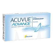 Acuvue Advance Fortnightly Lenses 6 Pack