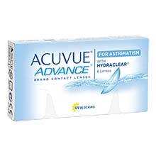 Acuvue Advance for Astigmatism Fortnightly Lenses 6 Pack