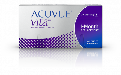 Acuvue Vita Monthly Lenses 6 Pack